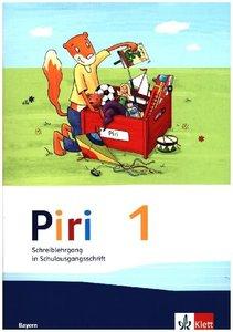 Piri Fibel 1. Schuljahr. Schreiblehrgang Schulausgangsschrift. A