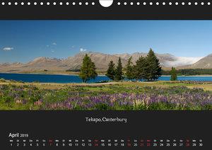 Aotearoa - Land der langen weißen Wolke (Wandkalender 2019 DIN A