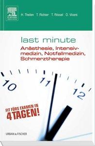 Last Minute Anästhesie, Intensivmedizin, Notfallmedizin, Schmerz