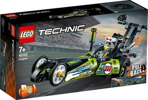 Technic Dragster Rennauto