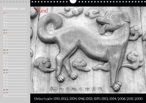 Das Chinesische Horoskop / Geburtstagskalender