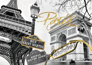 Goldenes Paris