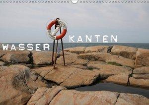 Wasserkanten (Wandkalender 2019 DIN A3 quer)