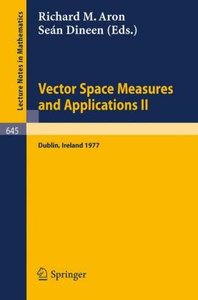 Vector Space Measures and Applications II