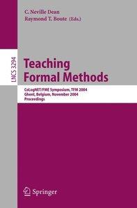 Teaching Formal Methods