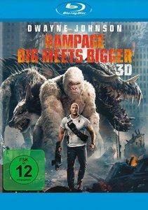 Rampage - Big Meets Bigger 3D, 1 Blu-ray