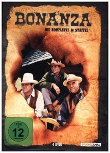 Bonanza. Staffel.14, 4 DVDs