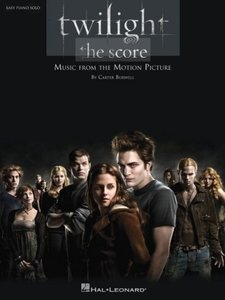 Twilight, the Score: Easy Piano Solo