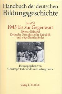 1945 bis zur Gegenwart