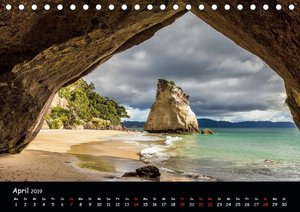 Sehnsucht nach Neuseeland (Tischkalender 2019 DIN A5 quer)