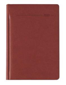 Buchkalender Tucson rot 2020 - Bürokalender A5