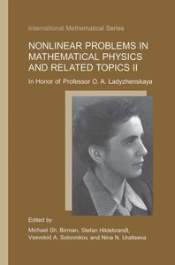 Nonlinear Problems in Mathematical Physics and Related Topics II