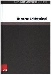 Hamanns Briefwechsel