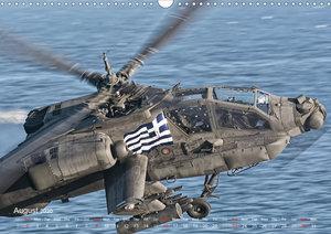 Hellenic Army AH-64 (Wall Calendar 2020 DIN A3 Landscape)