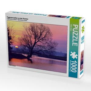 Tageserwachen an der Hamme 1000 Teile Puzzle quer