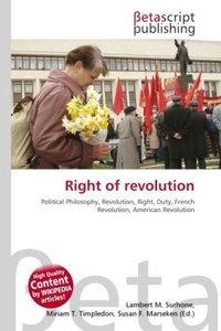 Right of revolution