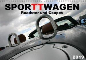 SPORTWAGEN Roadster und Coupés (Wandkalender 2019 DIN A3 quer)