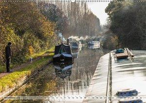 Narrow Boating auf dem Grand Union Canal