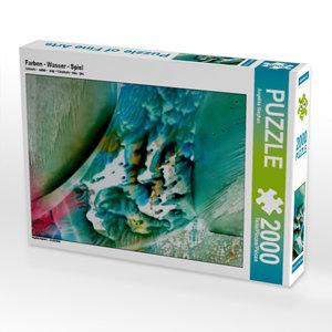Farben - Wasser - Spiel 2000 Teile Puzzle hoch