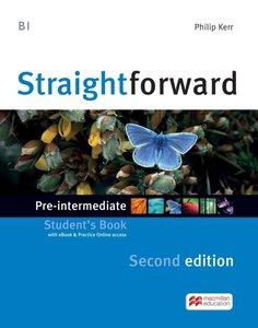 Straightforward Second Edition, mit 1 Buch, mit 1 Online-Zugang