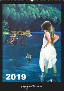Imaginationen (Wandkalender 2019 DIN A2 hoch)