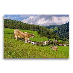 Premium Textil-Leinwand 75 cm x 50 cm quer St. Lorenzen