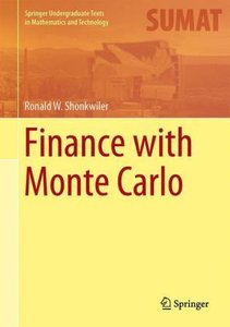 Finance with Monte Carlo