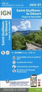 Saint-Guilhem-le-Désert.Cirque de Navacelles 1:25 000