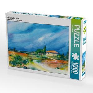 Toskana im Licht 1000 Teile Puzzle quer