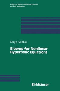 Blowup for Nonlinear Hyperbolic Equations