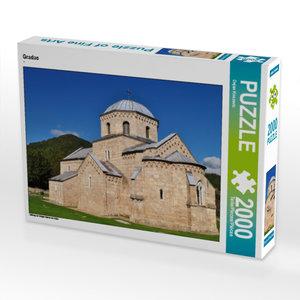 CALVENDO Puzzle Gradac 2000 Teile Lege-Größe 90 x 67 cm Foto-Puz