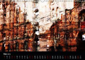 Hamburg-Art (Wandkalender 2019 DIN A3 quer)