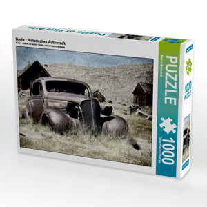 Bodie - Historisches Autowrack 1000 Teile Puzzle quer