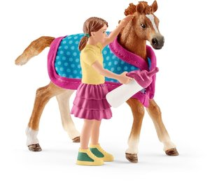 Action- & Spielfiguren Schleich 42413 Horse Club Lisa & Storm