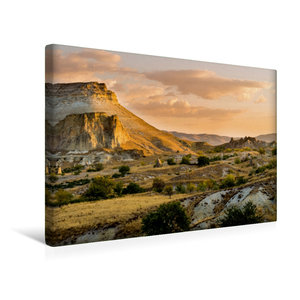 Premium Textil-Leinwand 45 cm x 30 cm quer Goldener Morgen in Ka