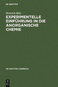 Experimentelle Einführung in die Anorganische Chemie