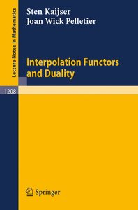 Interpolation Functors and Duality