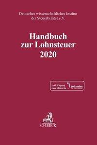 Handbuch zur Lohnsteuer 2020, mit 1 Buch, mit 1 Online-Zugang