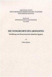 Die Nomarchen des Asinoites