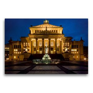 Premium Textil-Leinwand 75 cm x 50 cm quer Konzerthaus