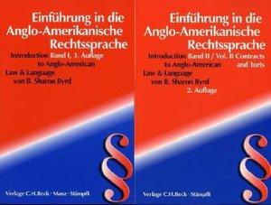 Einführung in die Anglo-Amerikanische Rechtssprache (Introductio