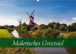 Malerisches Greetsiel (Wandkalender 2020 DIN A2 quer)