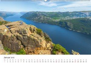 Norwegen - Landschaften und Fjorde im westlichen Norwegen (Wandk