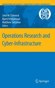 Operations Research and Cyber-Infrastructure
