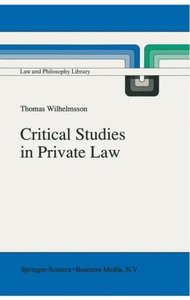 Critical Studies in Private Law