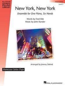New York, New York: Showcase Solos Pops Intermediate - Level 5