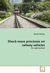 Shock-wave processes on railway vehicles