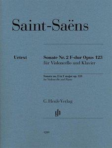 Sonate Nr. 2 F-dur op. 123 für Violoncello und Klavier