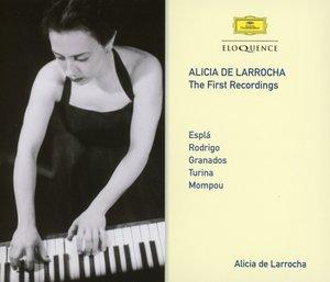 Alicia de Larrocha: Die ersten Aufnahmen
