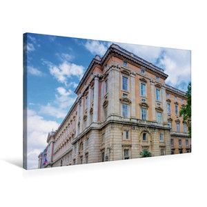 Premium Textil-Leinwand 75 cm x 50 cm quer Königspalast von Case